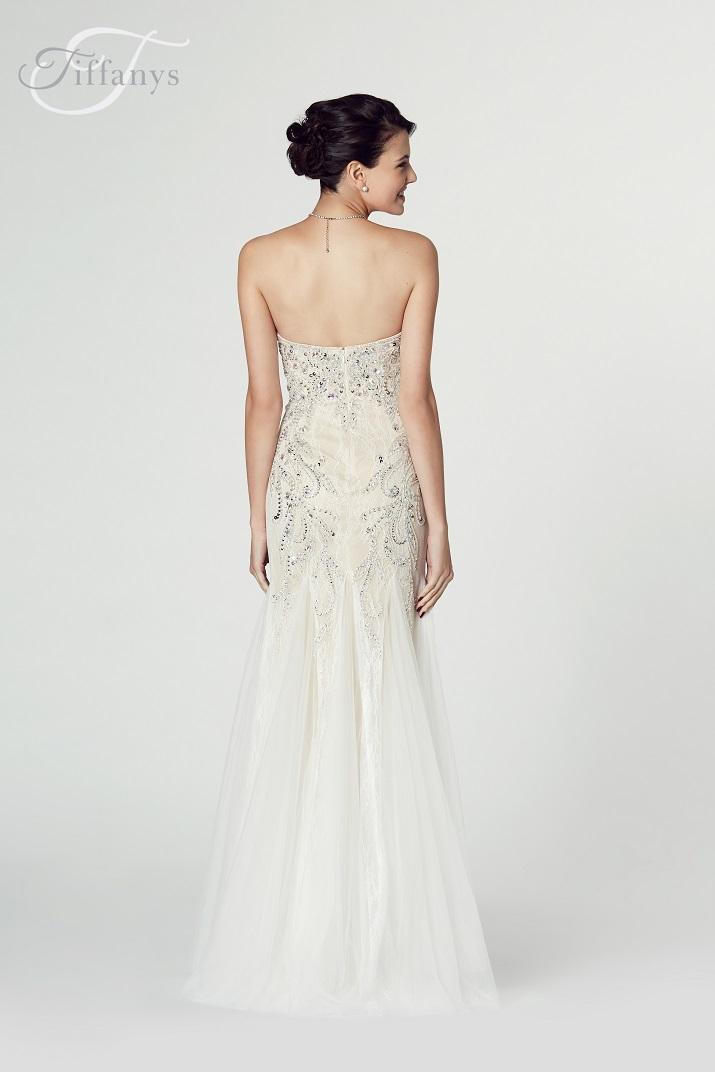 Tiffany's Illusion Prom Fantasia Dress
