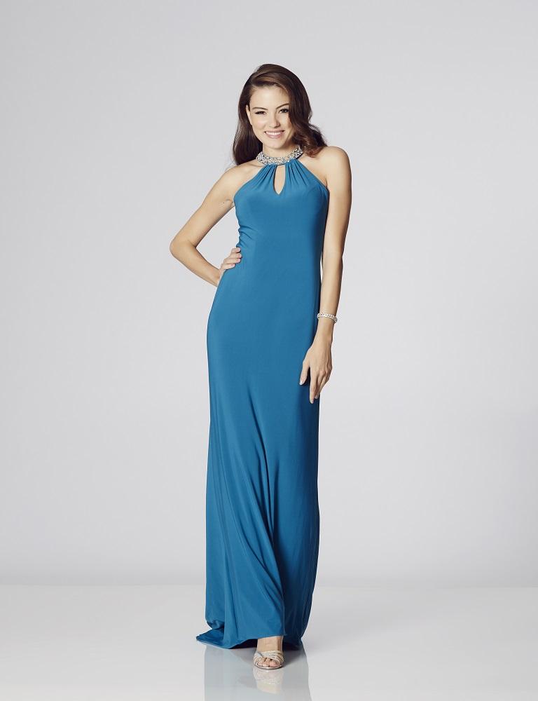 Illusion Prom Abbie – Aqua Sizes 0 & 4 (SALE) - Dressy Dresses
