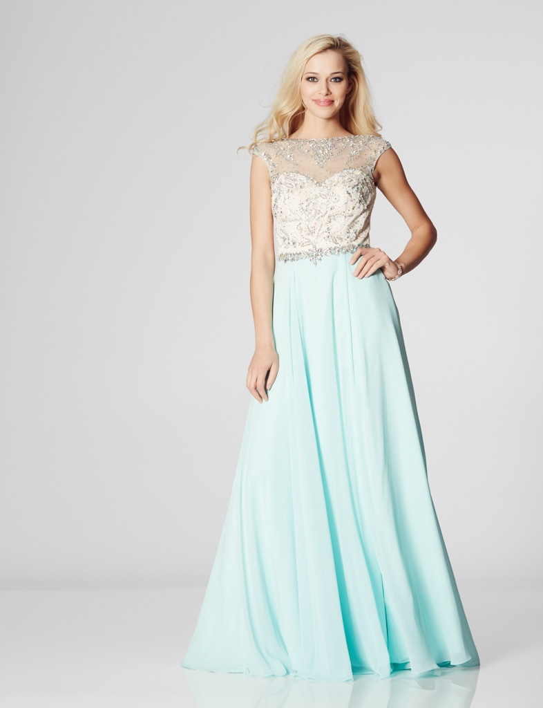 Illusion Prom - Sunny Prom Dress - Dressy Dresses