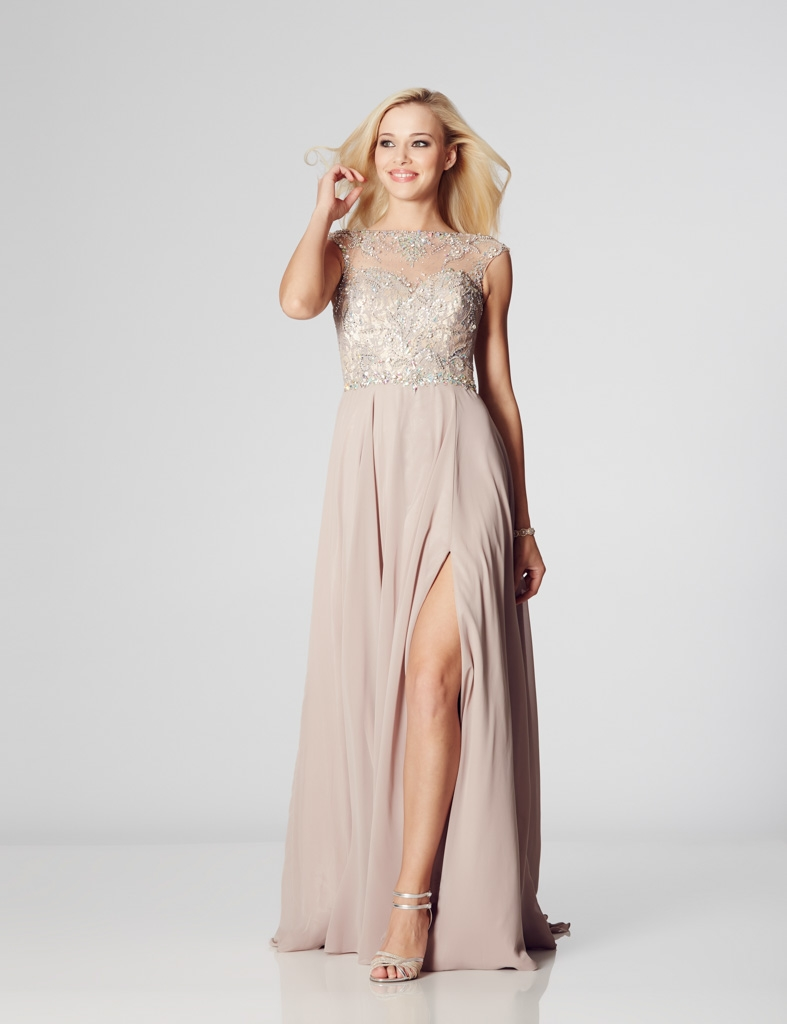 Illusion Prom Sunny Prom Dress Dressy Dresses