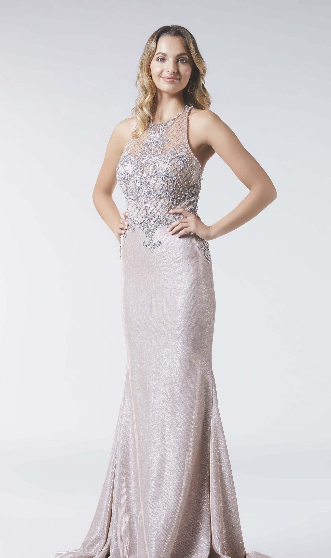 Beaded Dresses On Sale,Tiffany Style Prom Dresses,Champagne Silver Dress,beaded dress,beaded dress,